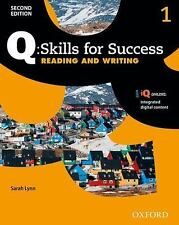 Q - Skills for Success, Level 1 : Reading and Writing by Sarah Lynn (2015, Pape…