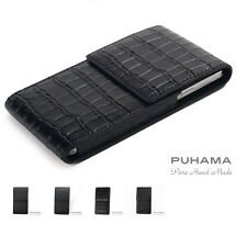 PUHAMA HA41 Hand-Stitched Custom Made Real Leather Case for Blackberry KEYone