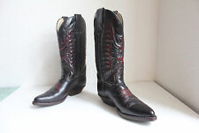 Sendra Western Cowbostiefel Voll Echtleder Weinrot Eu:36,5-37-Uk:4 made in Spain