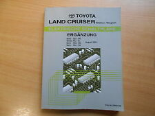 Adición de planta manual de mapas de carreteras Toyota Land Cruiser/Station Wagon 08.2002