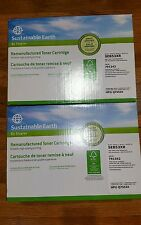 NEW !!! HP53X Remanufacture Toner black Q7553X Sustainable Earth Staples Brand
