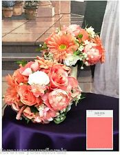 "New Artificial Country Coral Reef Wedding Bouquet 10"" in Diameter, Coral Bouquet"