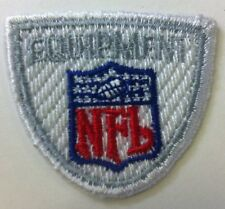"NFL Equipment Shield /crest 1.25""x 1.5"" Inch Sew On / Iron On Patch"