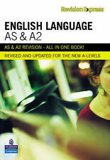 REVISION EXPRESS AS A2 LEVEL ENGLISH LANGUAGE KS5 REVISION GUIDE EXAM QUEST ANSW