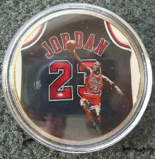 MICHAEL JORDAN  1 oz  24 KT .gold plated  COLLECTIBLE  COIN  # 5