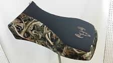 polaris sportsman seat  cover gripper top bonz camo deer skull 400 500 700 800