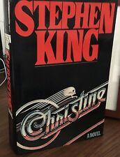 CHRISTINE Stephen King 1st PRINTING hardcover in DJ becoming scarce!