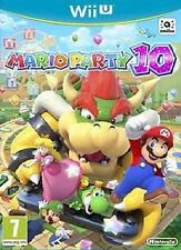 MARIO PARTY 10 boxed Wii U WiiU game Complete PAL UK