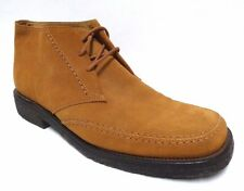 BALLY CHUKKA SUEDE LEATHER LACE UP ANKLE BROWN TAN, BEIGE BOOTS SHOES MEN'S 10 D