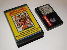 Betamax Video ~ I Wonder Who's Killing Her Now! ~ Large Case Pre-Cert ~ HVM