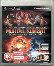 Mortal Kombat Komplete 9  Game of the Year  'New & Sealed' FREE P&P  *PS3*