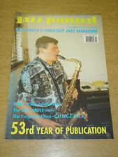 JAZZ JOURNAL INTERNATIONAL VOL 53 #5 2000 MAY PHIL URSO MIFF MOLE GEORGE ZACK