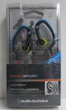 Audio-Technica SonicSport In-Ear Headphones ATH-CKP200 -Waterproof -NEW SEALED