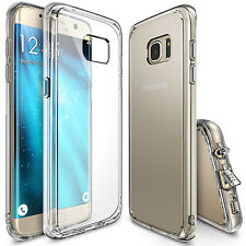 FUNDA PUNTERO SAMSUNG GALAXY S6 EDGE PLUS GEL TPU TRANSPARENTE ANTI POLVO DUST