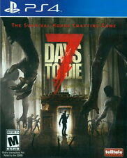 New Sony PlayStation 4 PS4 Games 7 Days to Die US English Version English Sub