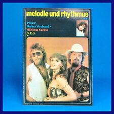 DDR   Melodie und Rhythmus 11/1983   Barbra Streisand John Mayall P. Rutherford