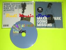 CD Singolo MAXIMO PARK Going missing England 2005 WARP RECORDS mc dvd (S8)