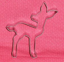 "Fawn,Deer,Metal Cookie Cutter, 4.5"".Woods, Bambi,C/K,Disney"