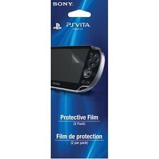 4 x Officiel Sony PS Vita PSV Films De Protection Écran Garde De Veille Easy Fit
