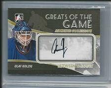 2010-11 ITG Between The Pipes Olaf Kolzig  AUTO  Greats of The Game autograph