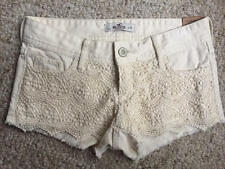 NEW Hollister lace front shorts size 1 W25
