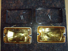 Peugeot 205 GTI driving lights lamps NEW YELLOW CLEAR Mi16 DIMMA fog d turbo GTX
