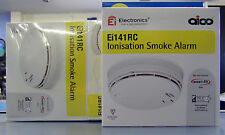 AICO EI141RC IONISATION SMOKE ALARM MAINS WITH 9V BATTERY BACK UP.