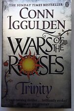 CONN IGGULDEN - WAR OF THE ROSES TRINITY HAND SIGNED BOOK  AUTOGRAPHED