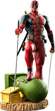 DEADPOOL - Deadpool on Atom Bomb 1/6th Scale Statue (Ikon Collectables) #NEW
