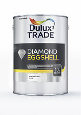 Dulux Trade Diamond Eggshell (Pure Brilliant White) 5L