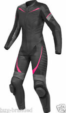 Rider Women sports Suit Motorbike Ladies Leather Suit Motorcycle Suit XS-4XL