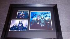 CRADLE OF FILTH SIGNED HAMMER OF THE WITCHES CD FRAMED DISPLAY COA LP PHOTO