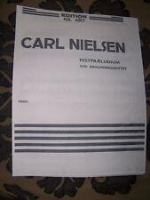ORGAN Carl Nielsen Danish Composer Festival Prelude Turn of the Century  Xerox