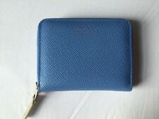 Smythson Pale Blue Leather Wallet / Purse New with Tags!