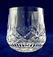 "Waterford Crystal ""LISMORE"" Roly Poly Whiskey Glass - 8.5cms (3-1/4"") tall"
