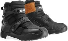 NEW THOR BLITZ LS ATV BOOTS SHORTY OFFROAD DUAL SPORT STEEL SHANK MENS 10 BLACK