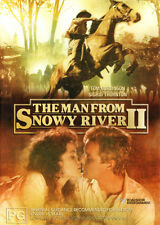The Man from Snowy River II * NEW DVD *