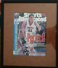 Framed 1996 Sports Illustrated UConn National Champs signed JEN RIZZOTTI