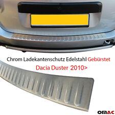 Chrom Ladekantenschutz Gebürstet aus Edelstahl mit Abkantung Dacia Duster 2010