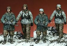ALPINE Mens 35113 WSS Granatieri a cavallo l'Imperatrice 2 FIGURE SET ritardo WW2 Set 1 / 35th KIT non verniciata