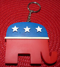 Collectible Plastic Keyring Donald Trump's Republican Party Elephant ! USA