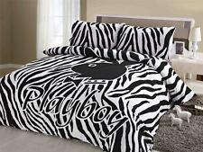 Playboy - Double Quilt  / Doona / Duvet cover -  Brand New.  Zebra. Licensed