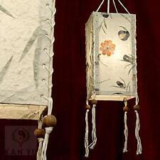 Lokta-Lampenschirm, Blütenpapier, ca. 33 cm   Lampion   Papierleuchte   Lampe