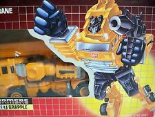 D1052521 GRAPPLE TRANSFORMERS AUTOBOT G1 BUBBLE MIB STYLE 100% COMPLETE RESEAL