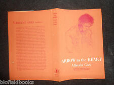 ORIGINAL DUSTJACKET (ONLY) for Arrow to The Heart by Albrecht Goes, Unclipped