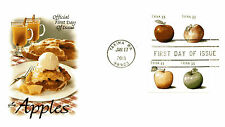 4731-34 Apple coils  on one ArtCraft FDC
