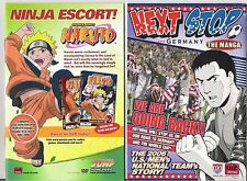 "MANGA COMIC LOT: 5 ISSUES OF ""NEXT STOP GERMANY"" 2006 US MEN'S NATIONAL SOCCER"