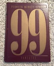 1999 Yearbook For Pioneer Middle School Panthers, Plymouth MI