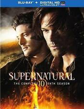 Supernatural: The Complete Tenth Season (Blu-ray Disc, 2015, 4-Disc Set,...