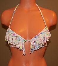 Victoria's Secret VS Swim The Fringe Fabulous Push-up Bikini Top  - 32B - NWOT